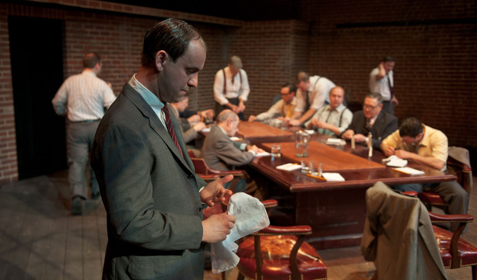 an analysis of the play twelve angry men by reginald rose The story is based on a television play by reginald rose, later made into a  movie by sidney lumet, with rose and henry fonda acting as.