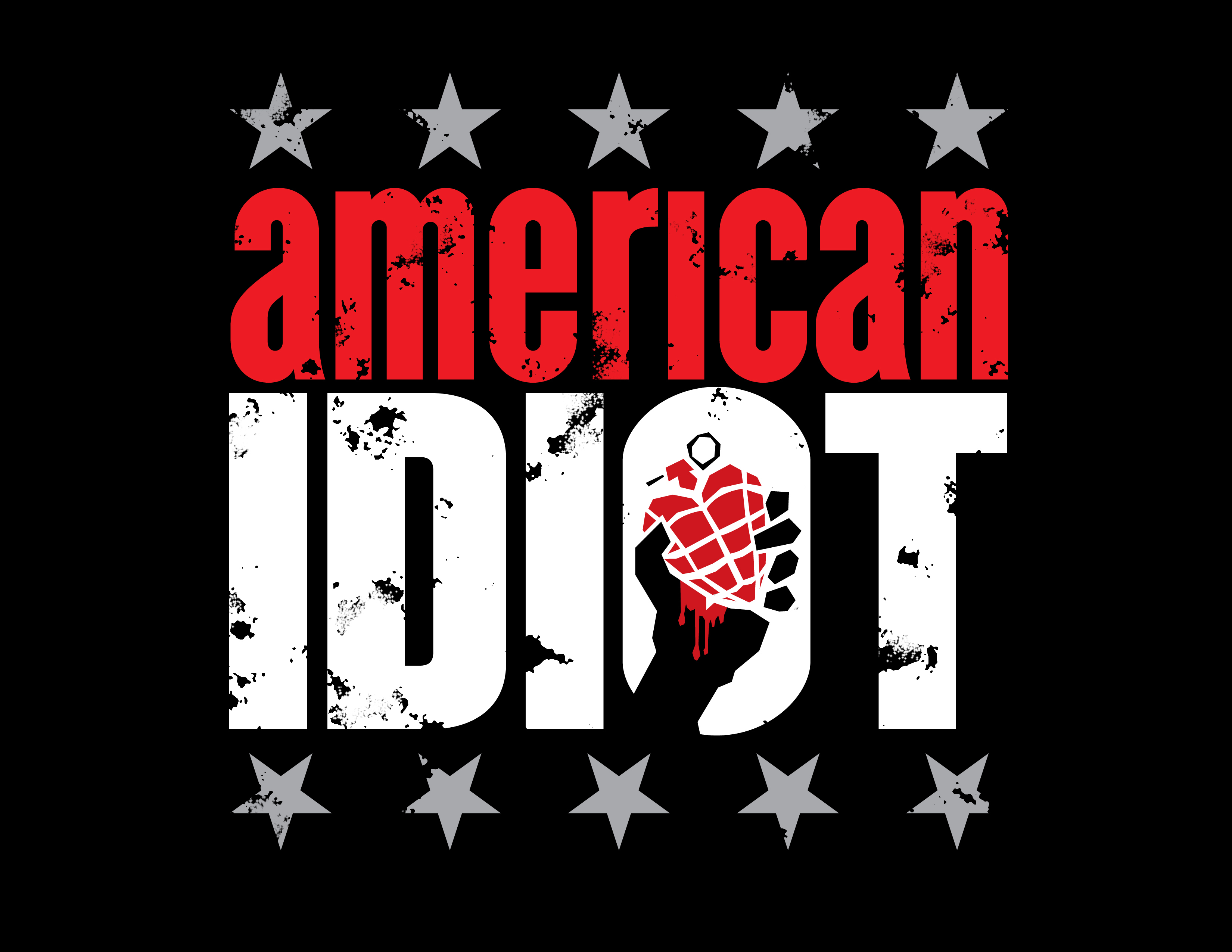 Image result for american idiot musical logo
