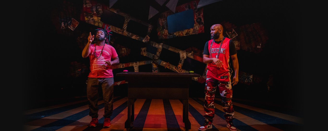 FROM GUMBO TO MUMBO, by Drew Anderson and Dwayne Lawson-Brown, directed by Duane Richards II. Photo by Cameron Whitman Photography.
